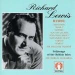 Richard Lewis synger.