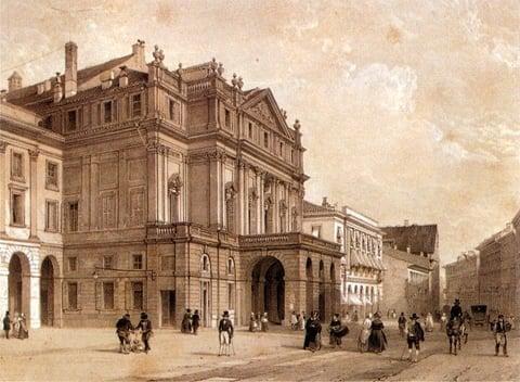 La Scala 1900 tallet